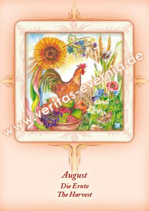 August Englisch Monat